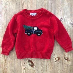 Kitestrings by Hartstrings sweater baby boy 18 mo